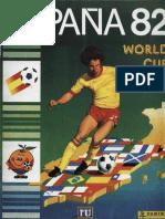 Álbum Copa Del Mundo España 82 - FL