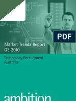 Ambition Technology Market Trends Report Q3 2010