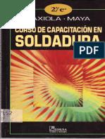Curso de Capacitacion en Soldadura- GAXIOLA .MAYA