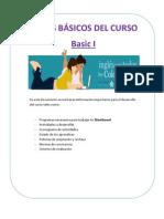 Datos Curso Basic I