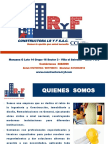 Brouchure Constructora LR y F SAC