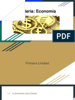 Economía Primera Unidad