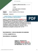 TRT3 - Consulta Acórdãos2