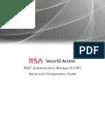 Rsa Authentication Manager 8.2 SP1 Setup Config Guide