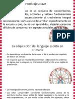 Adquisicion de Escritrura y Lectura Nuevo Modelo Educativo