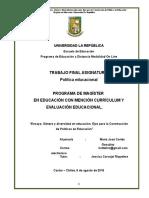 Maria Jose Cortes Gonzalez_informe Genero y Diversidad_ejes Para La Contruccion de Politicas en Educacion (1)