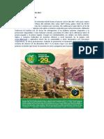 Promocion Viaja Mas Peru 2017