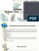Presentacion Tecnicas de Lectura Ingles 2 Semestre