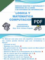 Presentacion1-Logica Proposicional