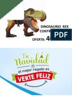 Publicidad de Venta de Dinosaurio