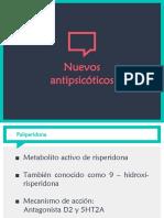 Nuevos antipsicóticos