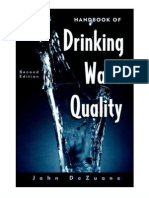 Handbook of Drinking Water Quality, 2nd Ed - 047128789X