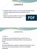 Logistica y c.s Conceptos