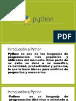 Introduccion Python