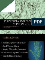 Potencia Instantánea y Promedio (2)