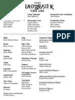 beauty and the beast cast list