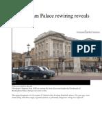Buckingham Palace rewiring revealed mysteries