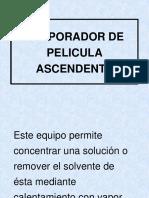 85273535 Evaporador de Pelicula Ascendente