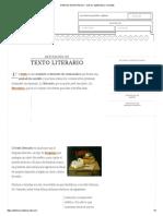 Definición de Texto Literario - Qué Es, Significado y Concepto