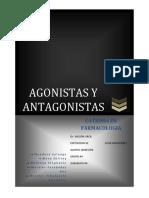 Agonistas y Antagonistas Expo Final