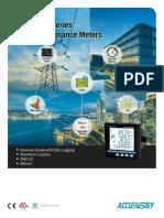 Acuvim II Multifunction Power Energy Meter Brochure Datasheet