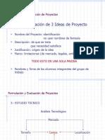 Formulación y Evaluación de Proyectos 3 A