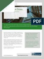 Sustainability Regenerative Drives Cutsheet 022213