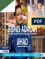 BISNIS ADALAH IBADAH