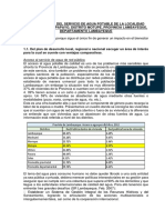 Proyecto de Formulacion y Evaluacion de Proyectos - Final PDF
