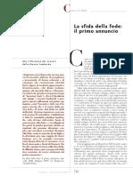 Obispos de Lombardía (2009) La Sfida de La Fede Il Primo Annuncio