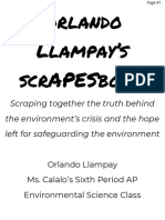 orlando llampays scrapesbook project