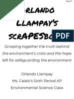 orlando llampays scrapesbook project