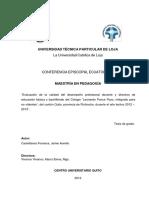 UTPL Castellanos Fonseca Jaime Aurelio 1130937
