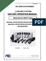 AFC1500 Operations Manual