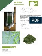 Spirulina Growing System