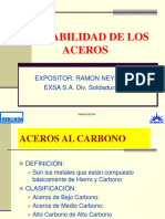 Aceros de Dificil Soldadbilidad CHILE