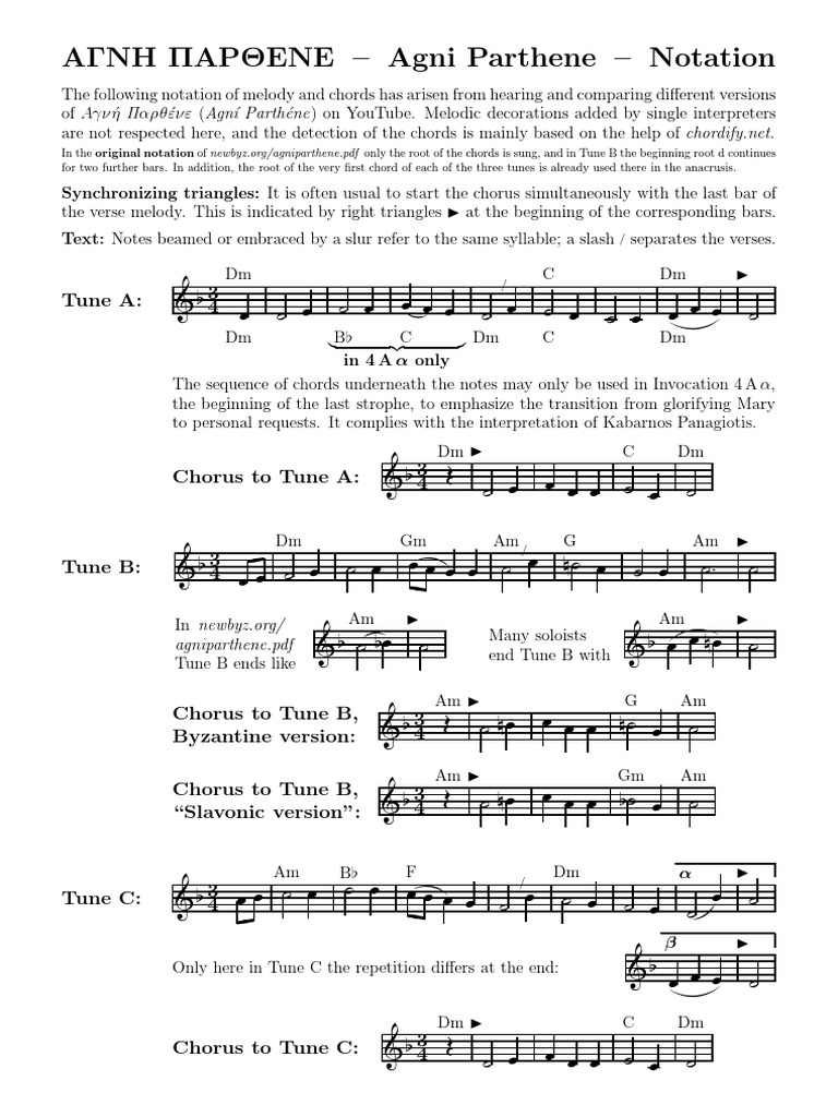 Agni Parthene Notation.pdf   Refrain   Song Structure