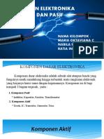 KELOMPOK 7 PPT Komponen Pasif Dan Aktif
