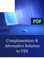 Complemenatry & Alternative Solution to VDI