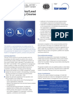 OHSAS 18001 Lead Auditor Training (IRCA)-4