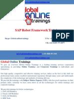 Robot Framework Training | Robot Framework Online Training - GOT