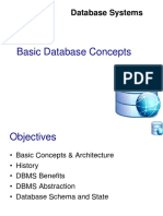 Basic Database Concepts