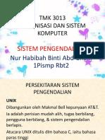 Tmk 3013 Sistem Pengendalian