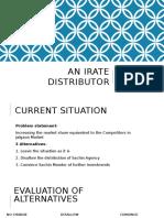 An Irate Distributor_
