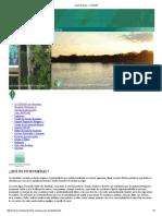 Los humedales sitios Ramsar