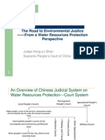 Hong-Yu Shen - The Road to Environmental Justice - From a Water Resources Protection Perspective