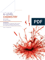 AQA a Level Chemistry Specification
