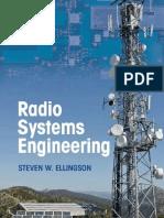 Steven W. Ellingson-Radio Systems Engineering-Cambridge University Press (2016)