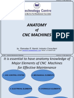 Anatomy of CNC Machines BLR-IMTMA Presntation Sep 18, 2014