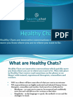 Healthy Chat | Qualified Counsellors